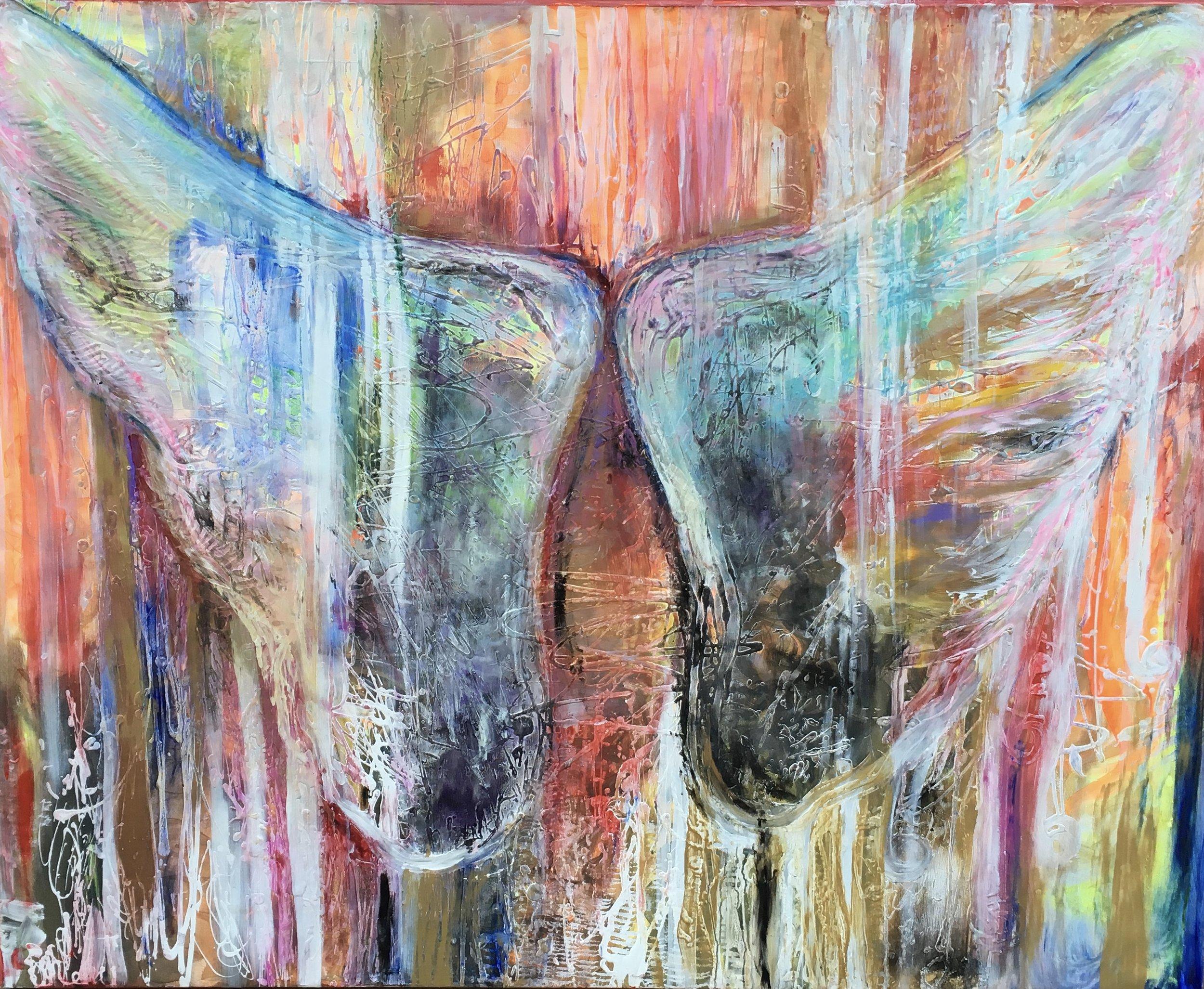 Supernatural I /150x120cm / acrylic on canvas