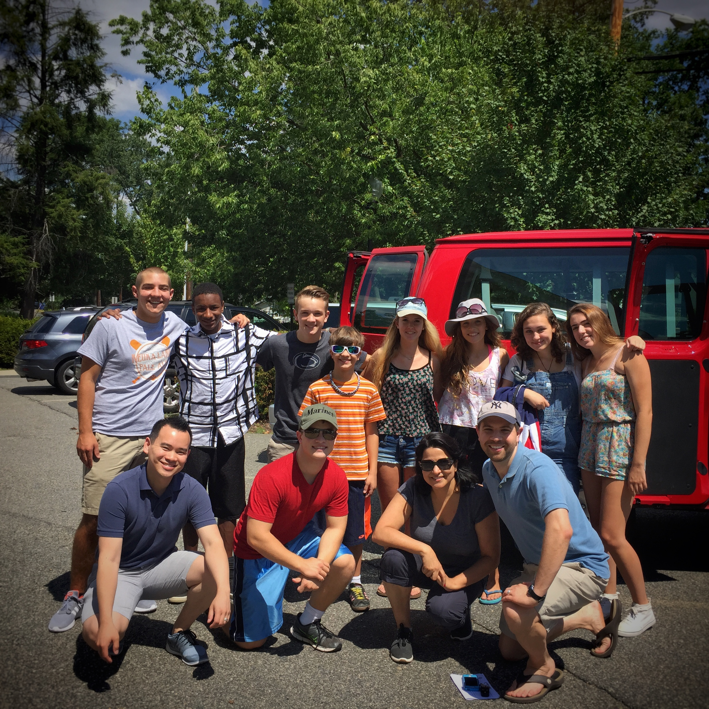 """Youth Group """"Glamping"""" Trip 2015"""