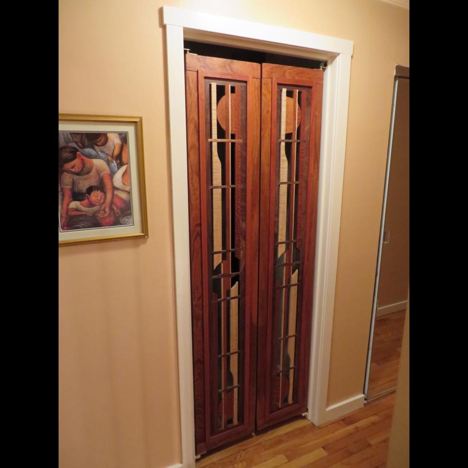 "Sculptural doors, ""Sparrow"" Design, Full length"