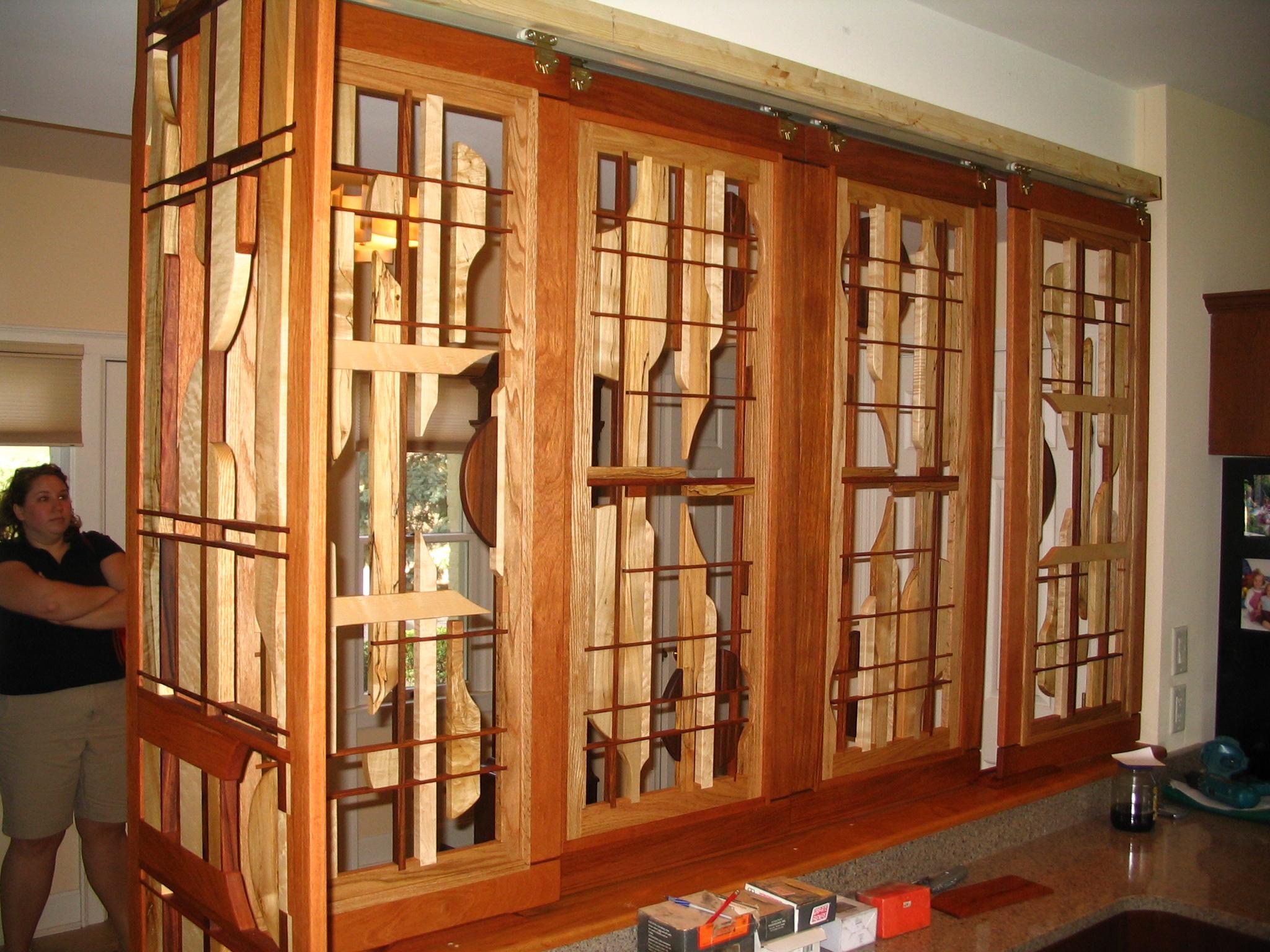 Sculptural Half Wall, Kitchen side