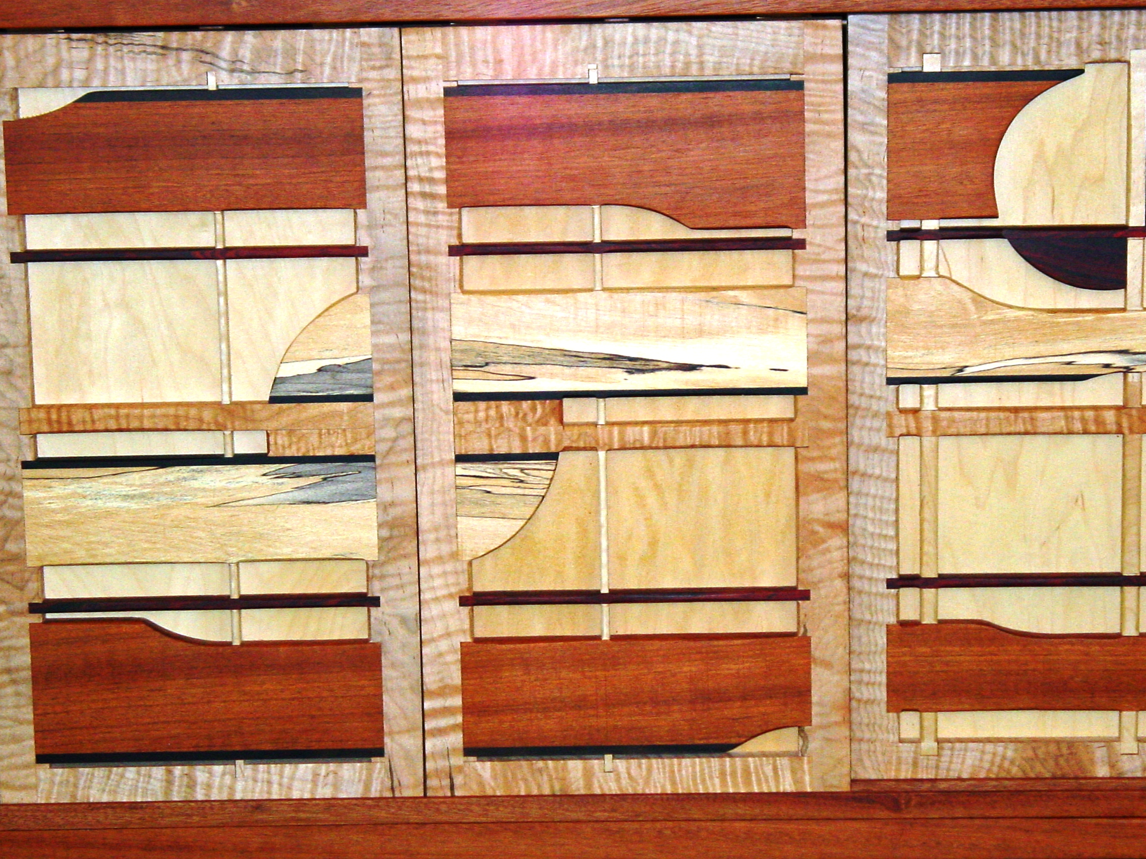 Jatoba Cabinet (close up)
