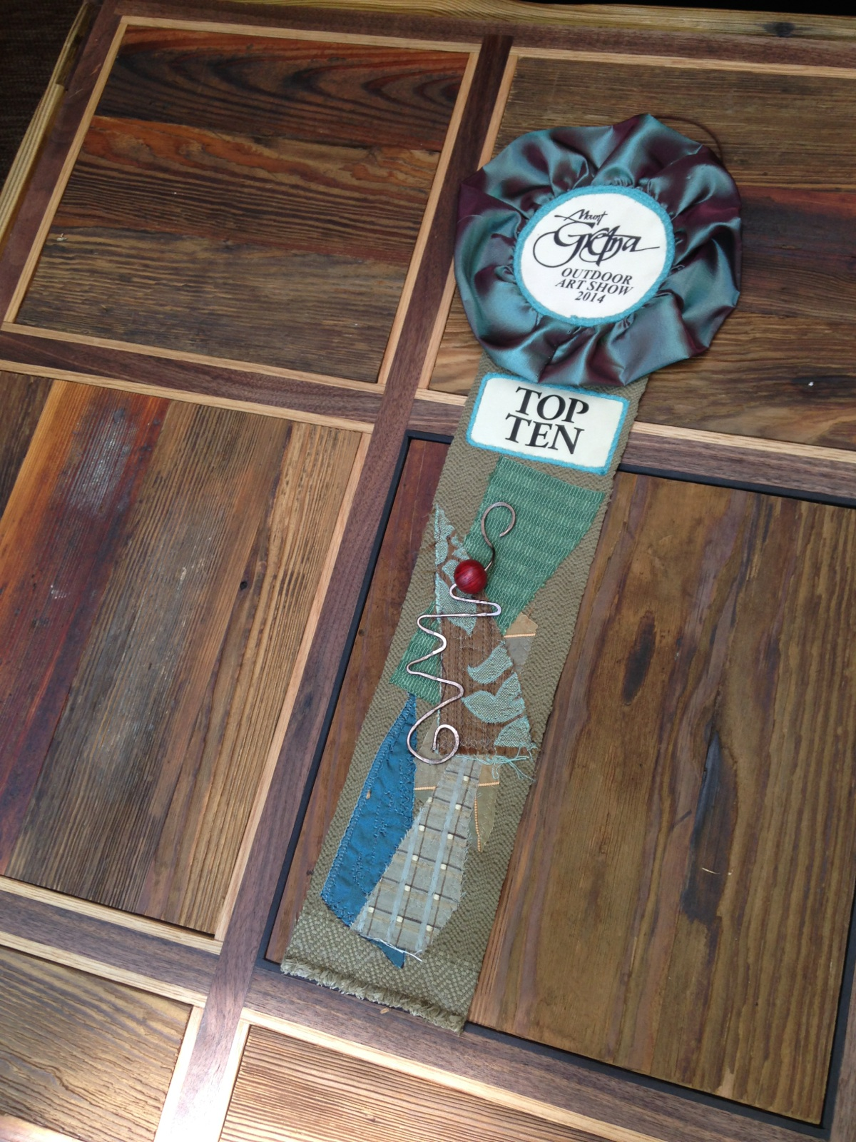 Floorboard Table (close up)