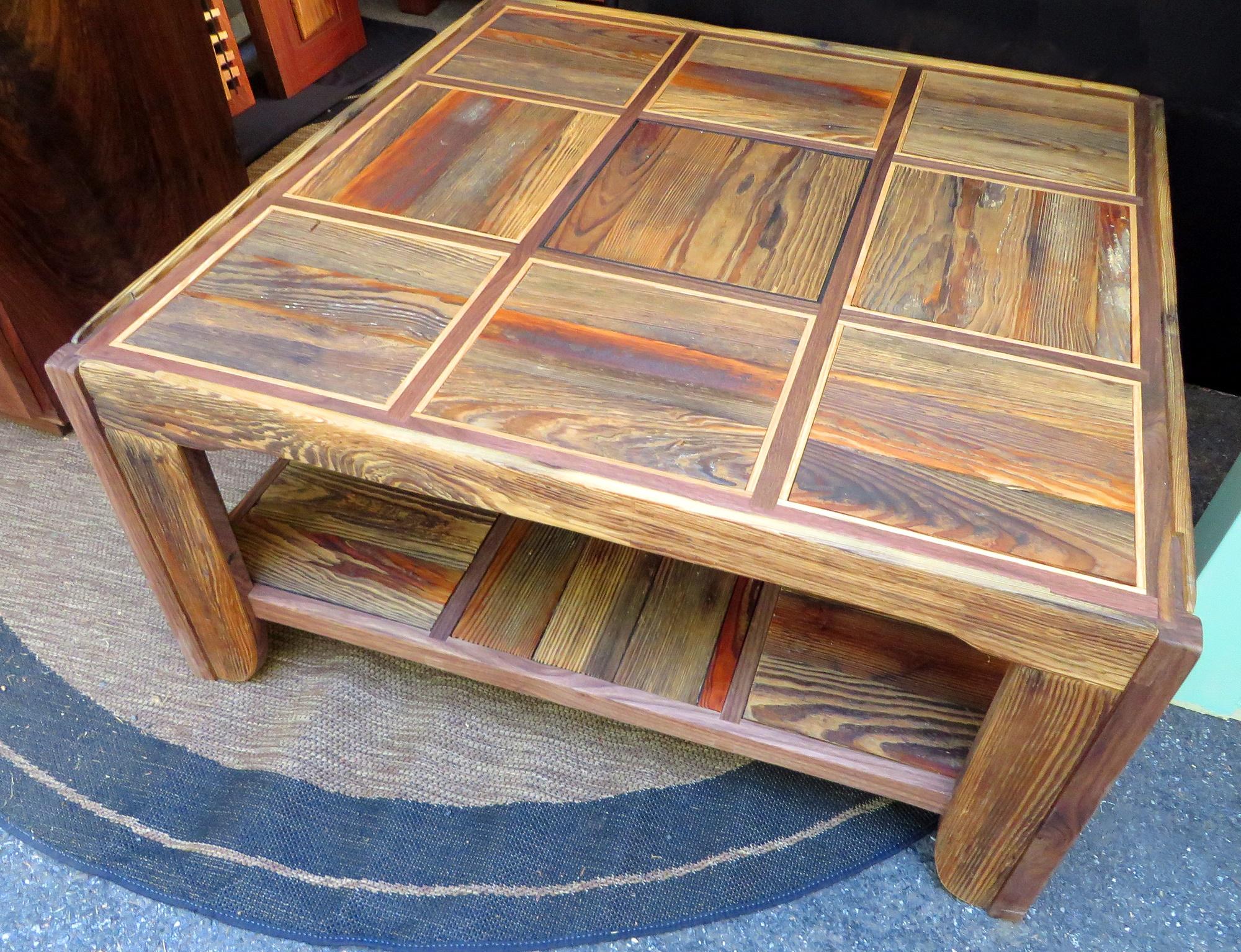 """Floorboard Coffee Table (36""""x36"""")"""