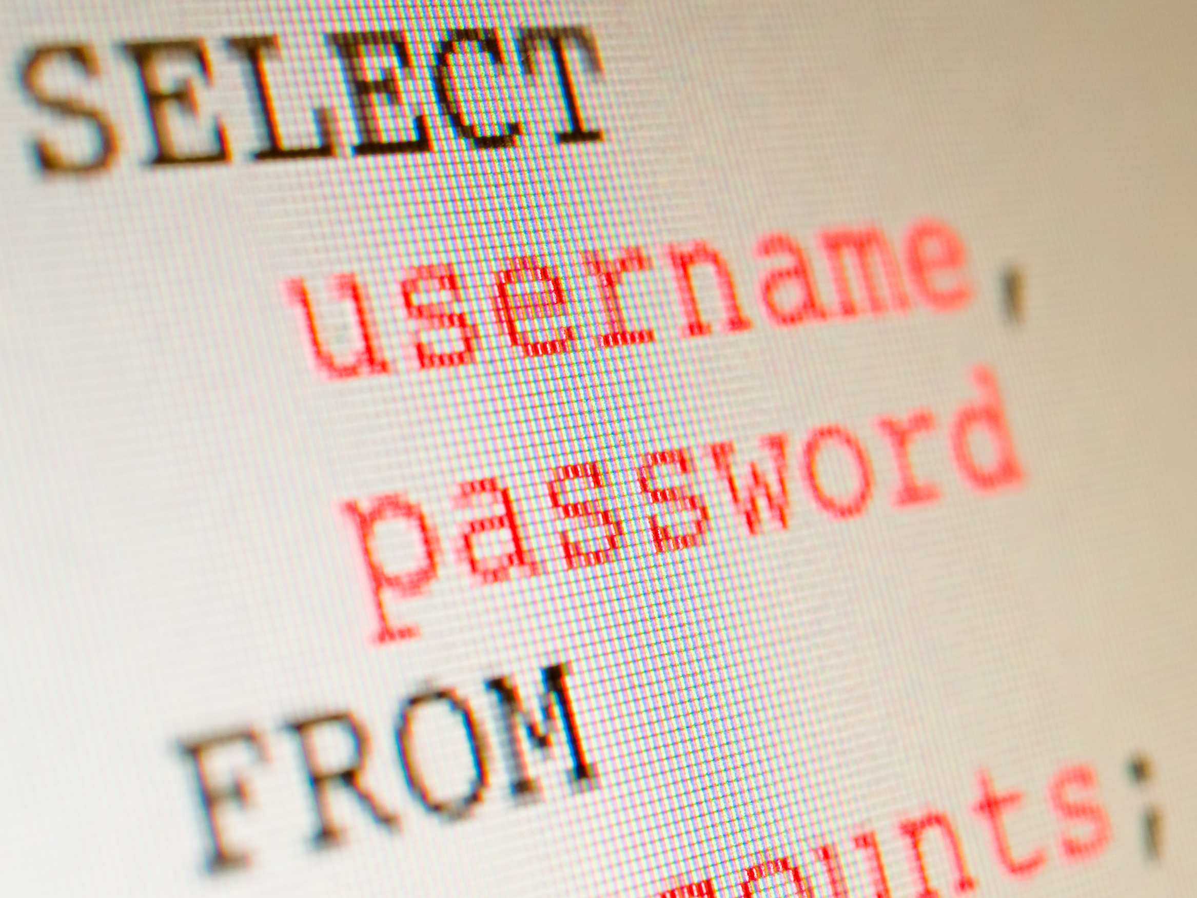 Many Web Applications are vulnerable to injection attacks, such as SQL Injection