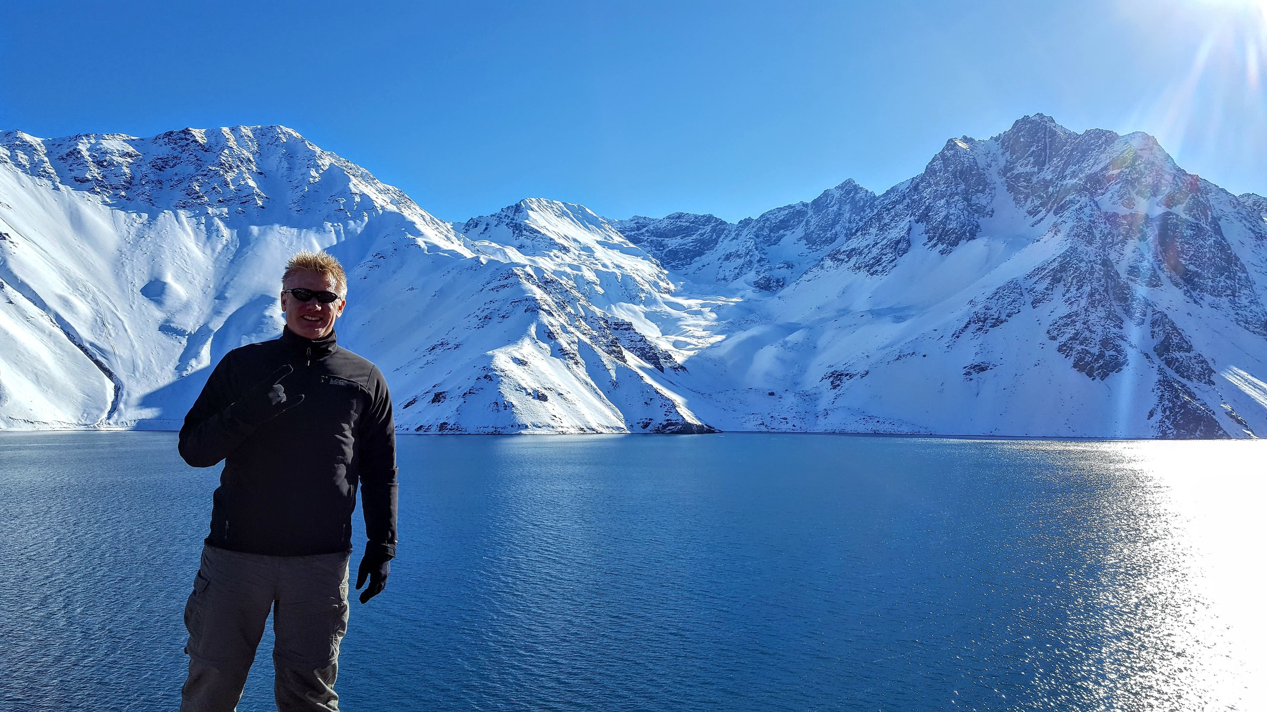 Christian, in the Chilean Andes