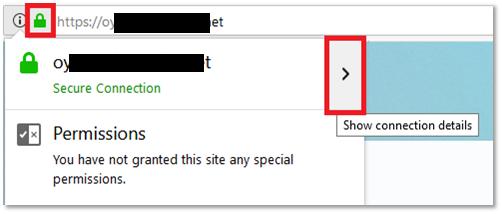 Viewing the Website Certificate Fingerprints, Part 1