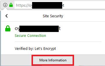 Viewing the Website Certificate Fingerprints, Part 2