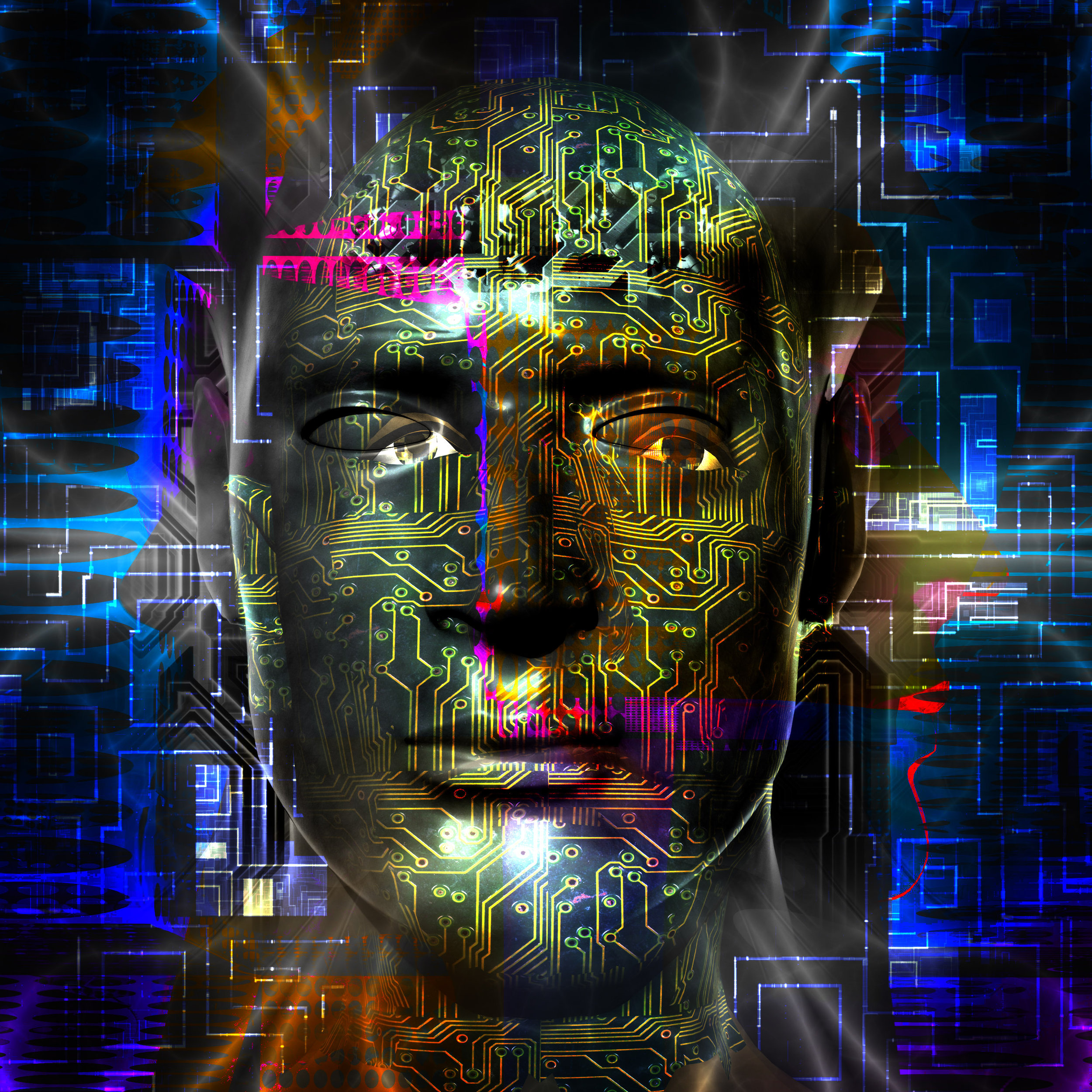 Cyborgs will rule Earth in the near future.