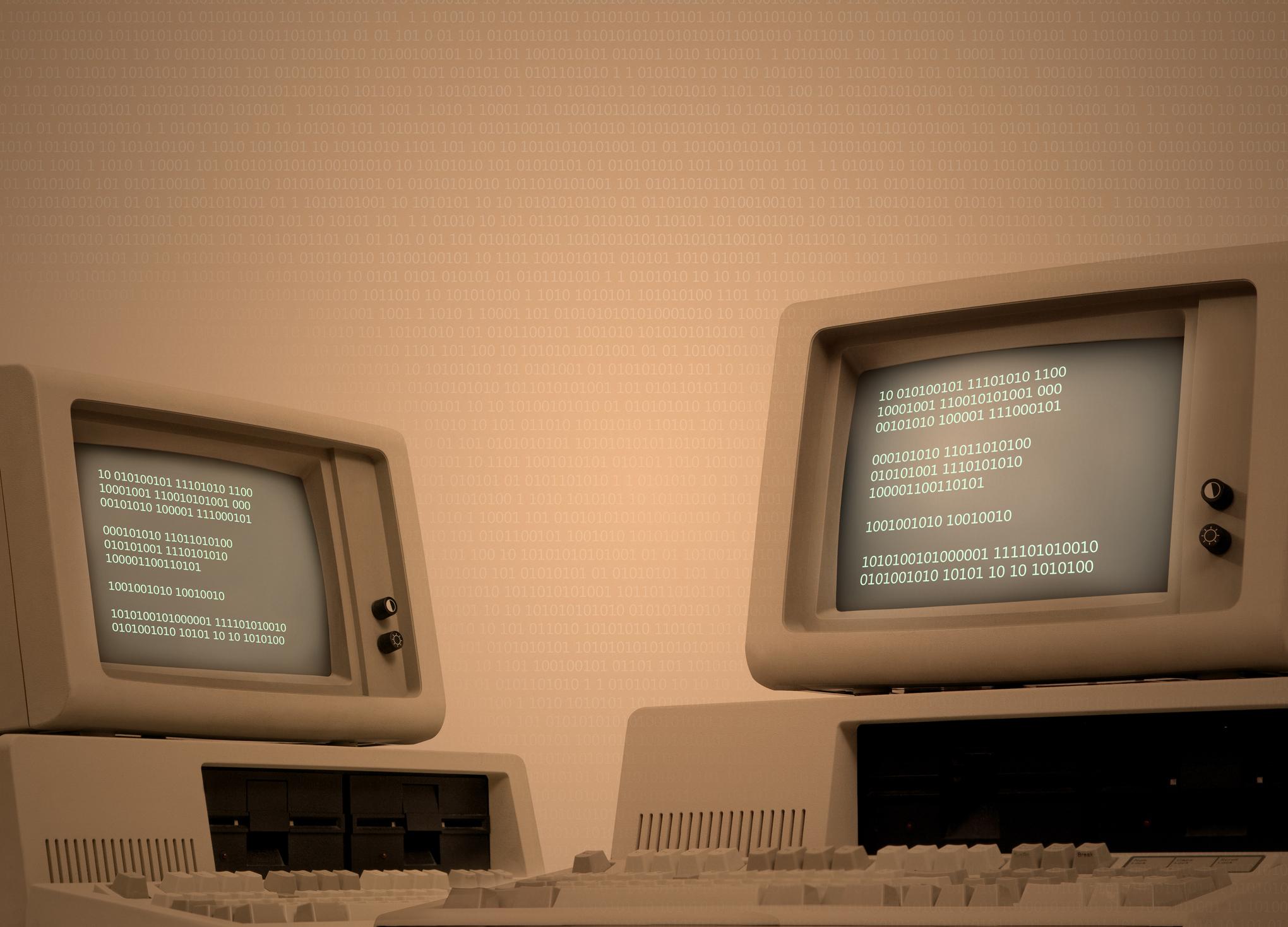 Vintage computers.