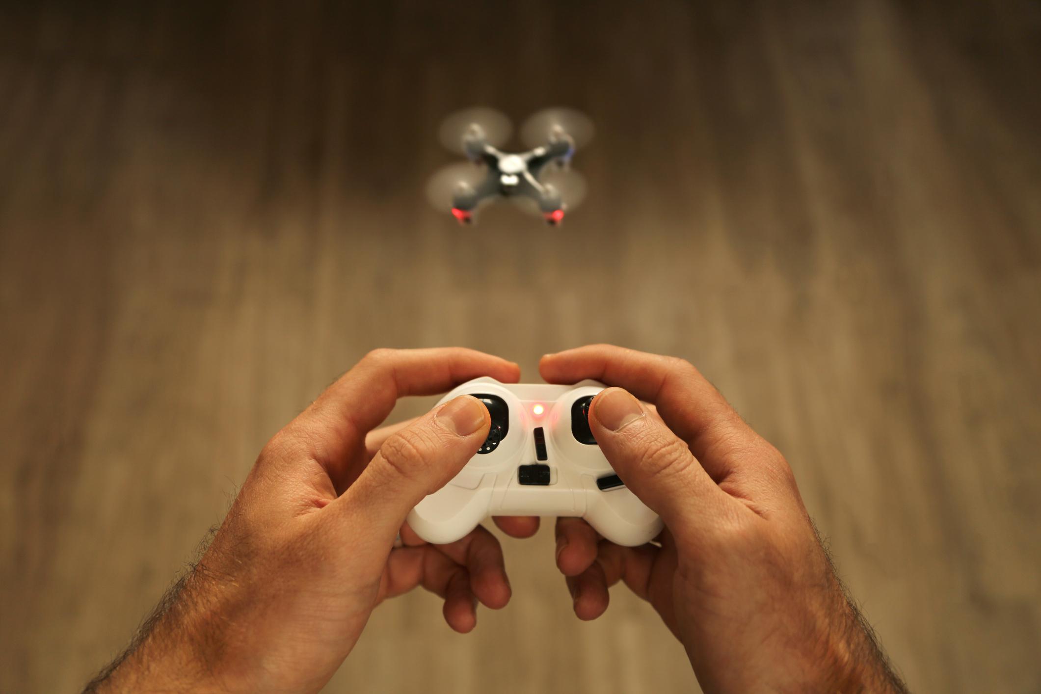 Hacking microdrones