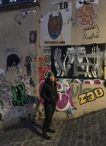Brooke in Monmarte