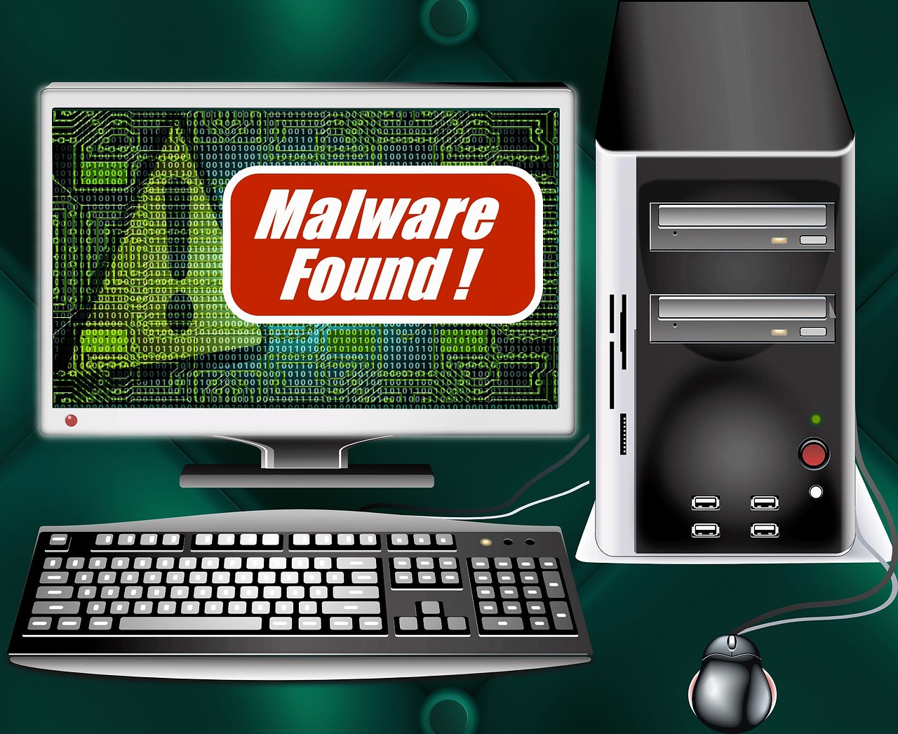 Malware research can help identify what the intent is of the attacker
