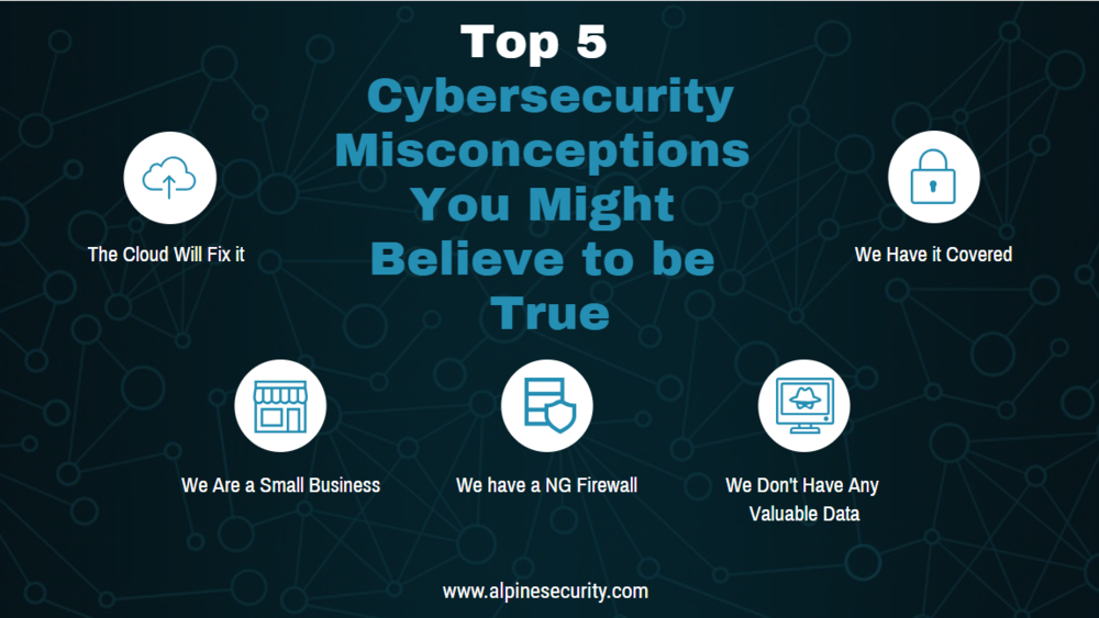 Top 5 Cybersecurity Misconceptions