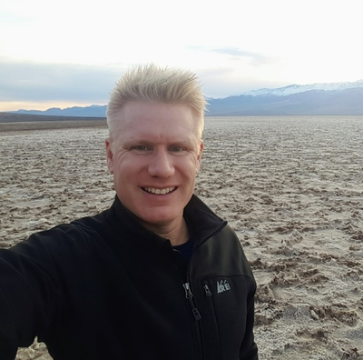 Christian Espinosa at Badwater