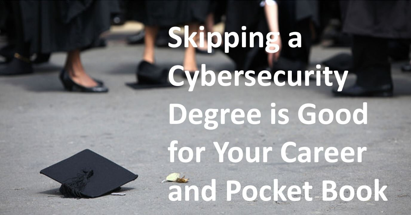 Save money and time - skip a degree, focus on certifications