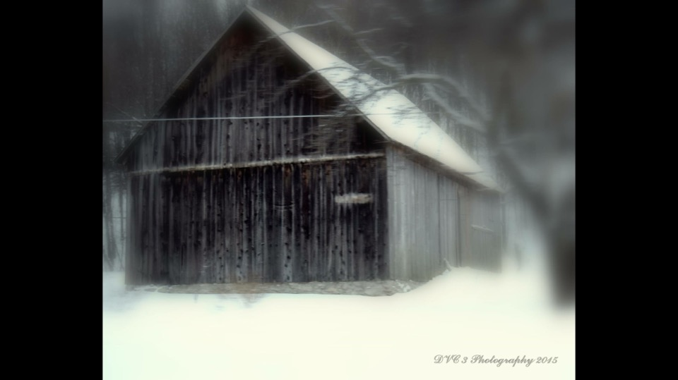 "Unfortunately I do not have a history. This was just one of my many ""Barn Catches"" last week while on a mini getaway to Northern Michigan. This particular barn was on M-22 almost to the lighthouse in North Port. I just love barns and get very sad in my   travels as I see them crumble! However, when I see the he other side of that, the restorations and just putting a corrugated roof on them, makes me real happy!!! ... David Coates,  ""DVC 3 Photography""  ."