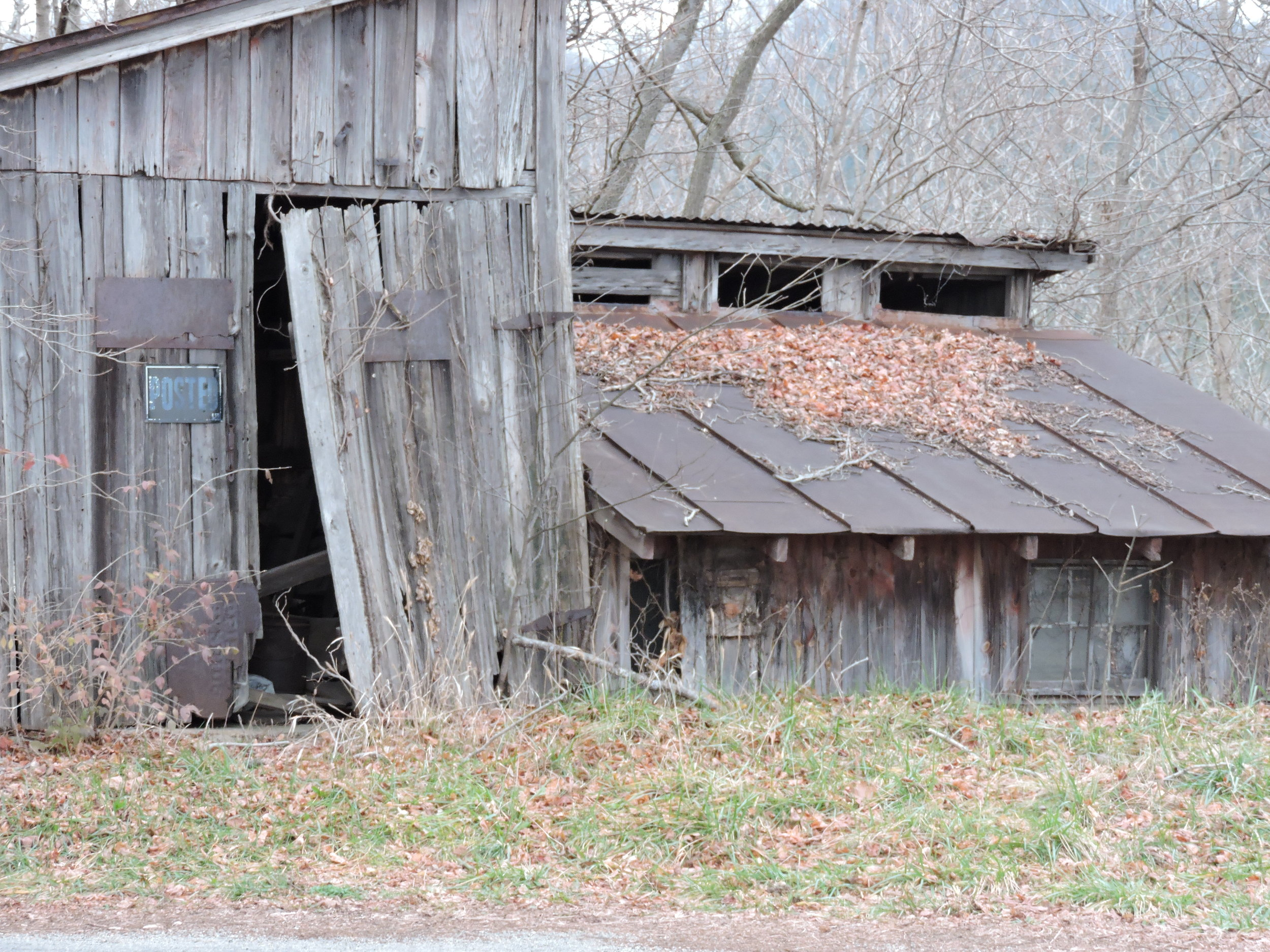 Barn built in 1880 in Southern Indiana