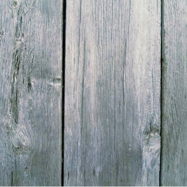 Weathered Siding- No paint- 7 inches wide. Neither tongue and groove nor ship-lap. Just flat boards placed side by side- 1 inch thick.