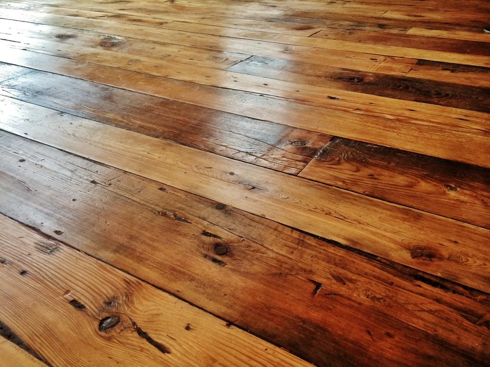 Beautiful Reclaimed wood flooring