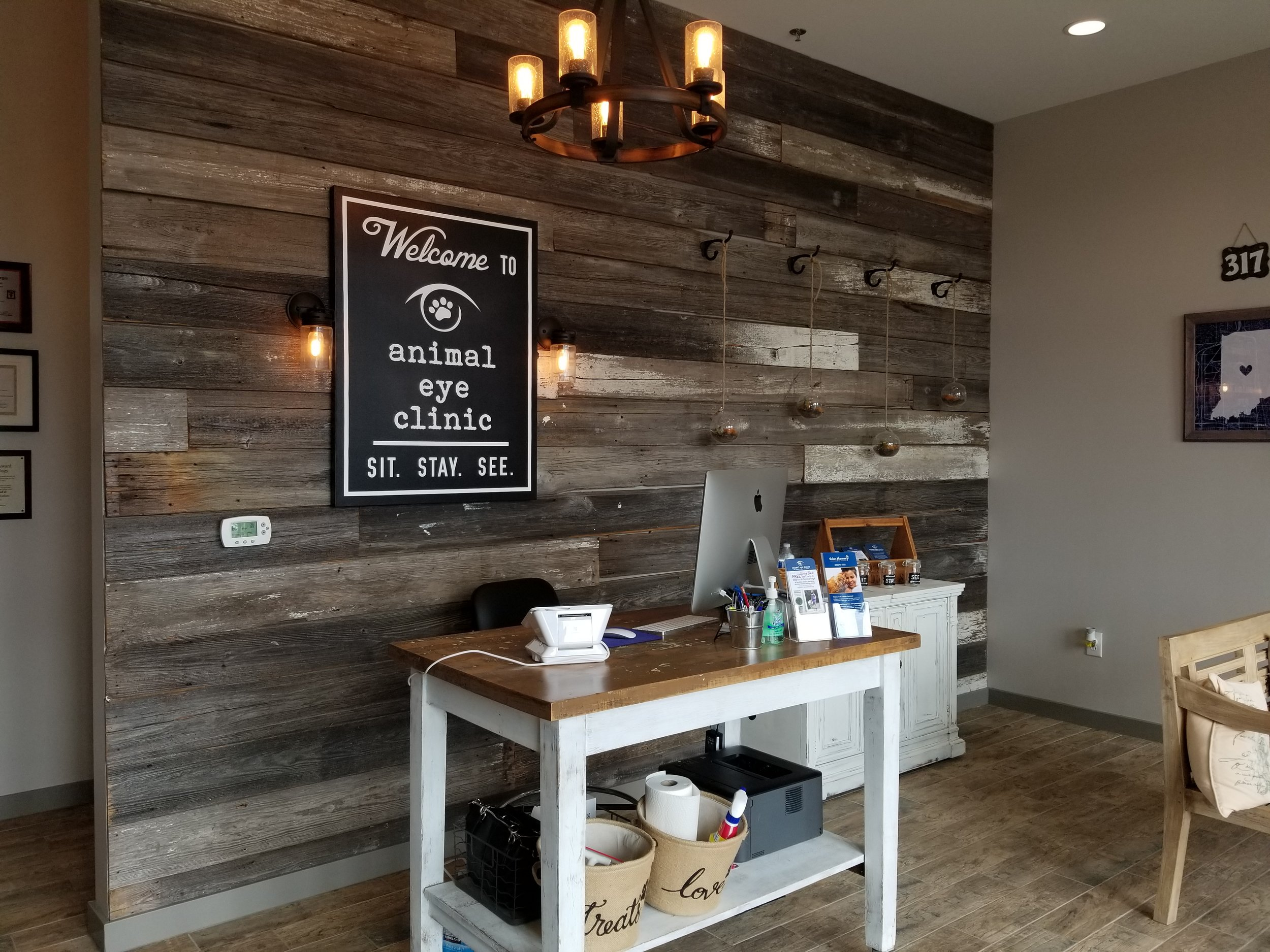 Great for businesses and offices: Indy Animal Eye Clinic