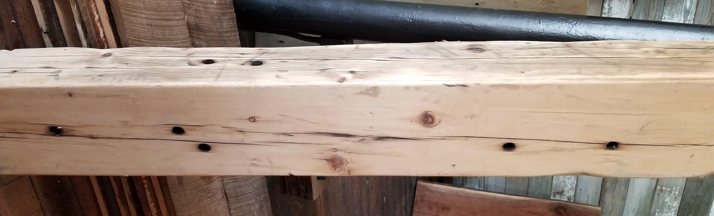 White Pine- Milled  Mantles- Ceiling Beams- Wall panel- Doors- Table tops