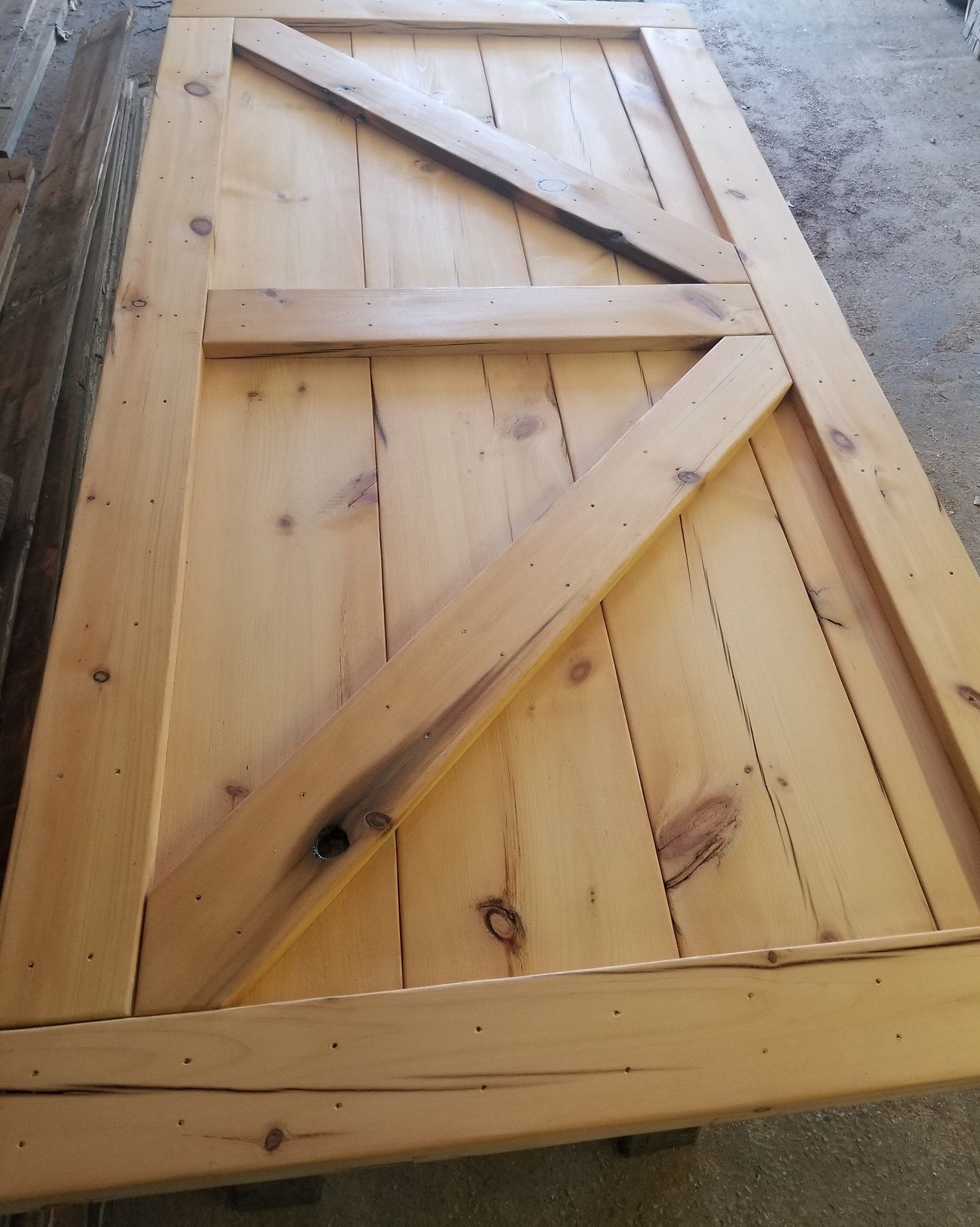 White Pine Door