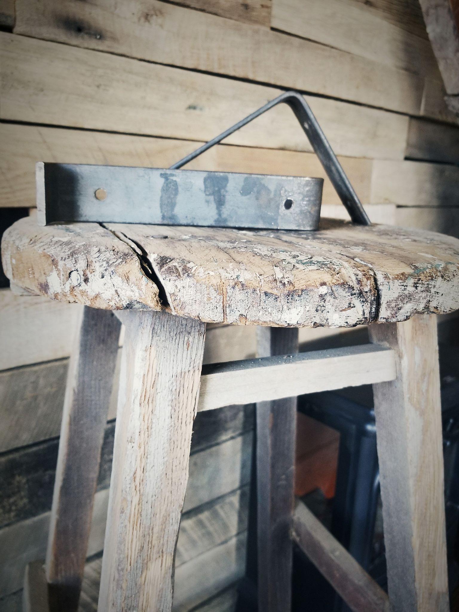 Hand made steel brackets- custom size- you decide.