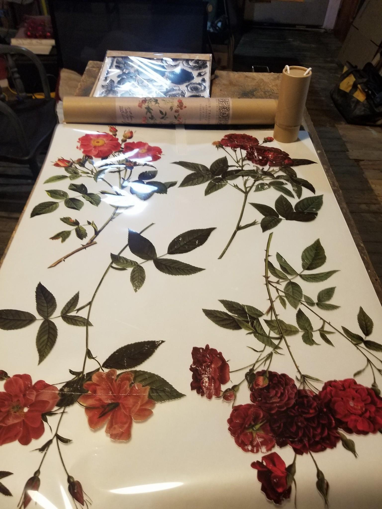 Iron Orchid Design Transfers sold in our showroom