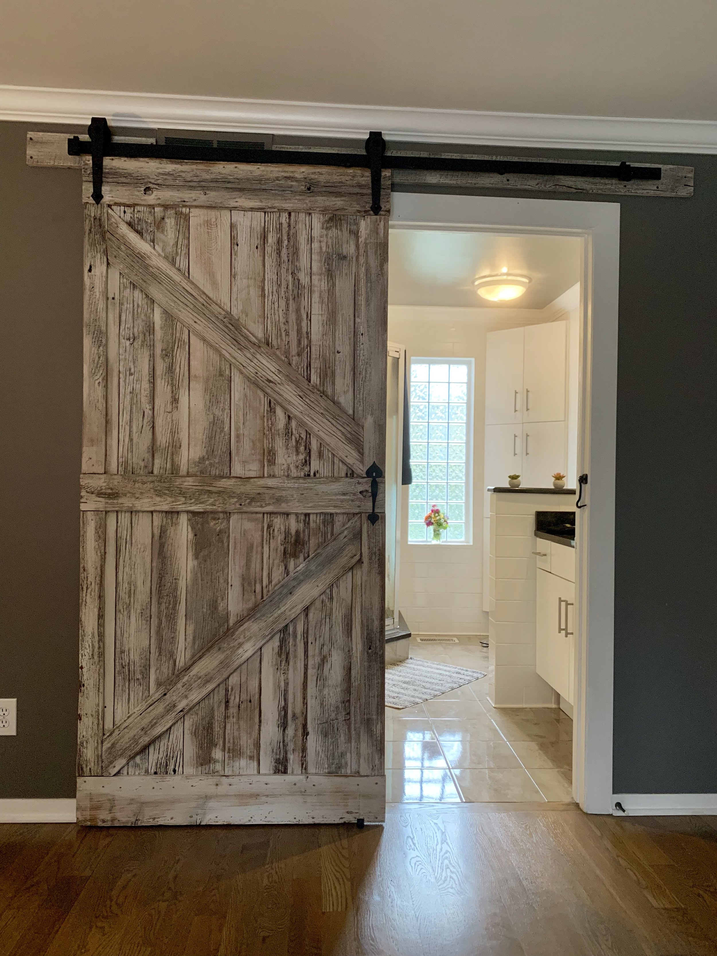 Design your own Custom Sliding Barn Door