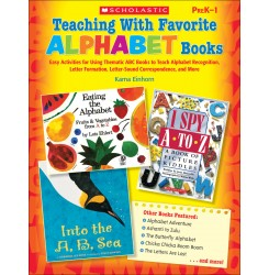Into the A,B,Sea is prominently featured in Teaching with Favorite Alphabet Books by Kama Einhorn, from Scholastic.