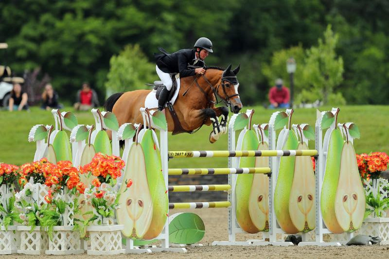Shawn Casady wins the $50,000 Horseware Ireland Grand Prix aboard Valinski S. Photo by ESI Photography.