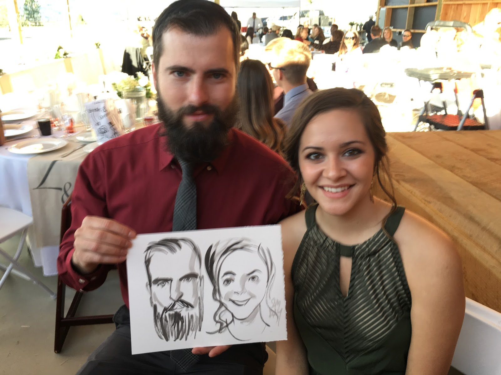 Sam Day – Wedding Painter