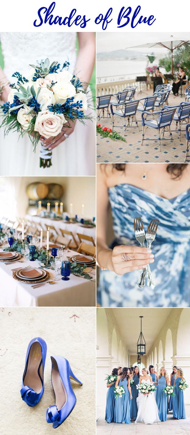 Blue Wedding Lucky In Love Wedding Planning Blog Northwest Wedding Resource Guide