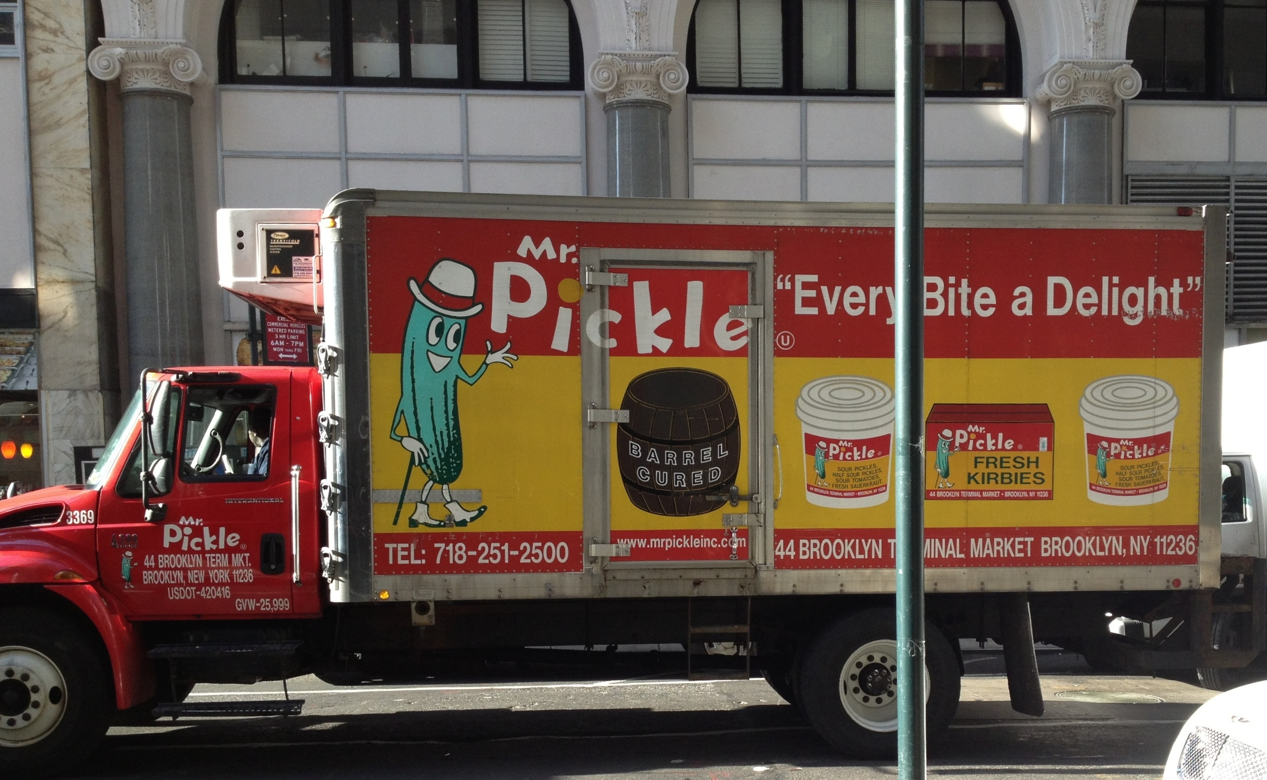 How would you need to know anything more about Mr. Pickle?