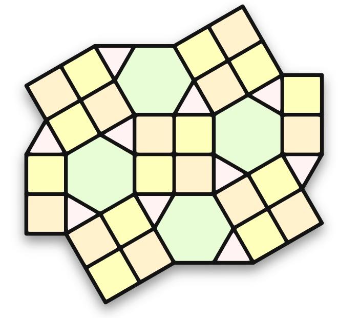 demiregular tiling