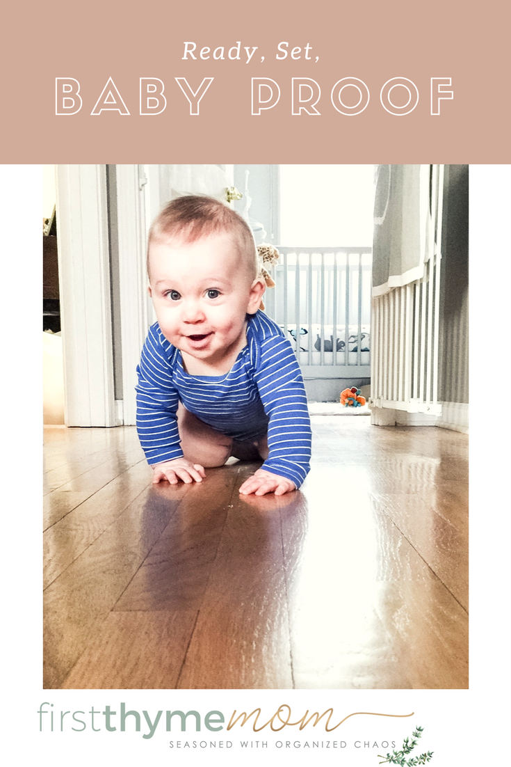 10 Steps For Baby Proofing Your Home. How to get started baby proof your home. Suggestions and ideas for baby proofing.