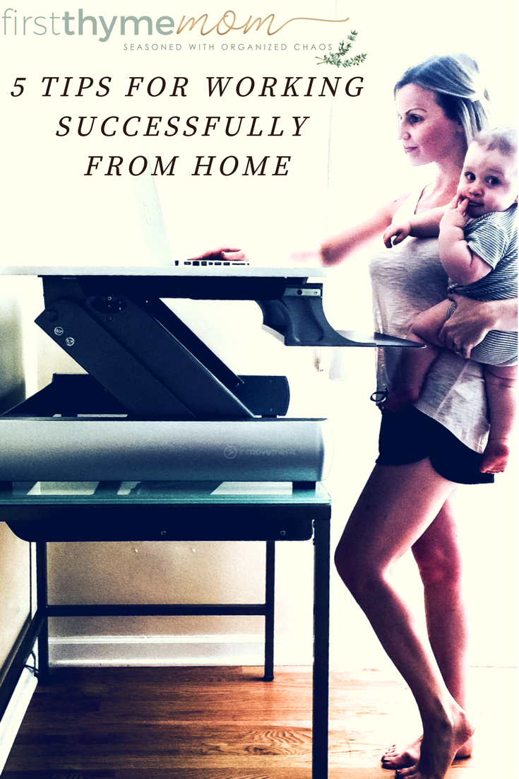 How to get more done when working from home. How to set up a home office.