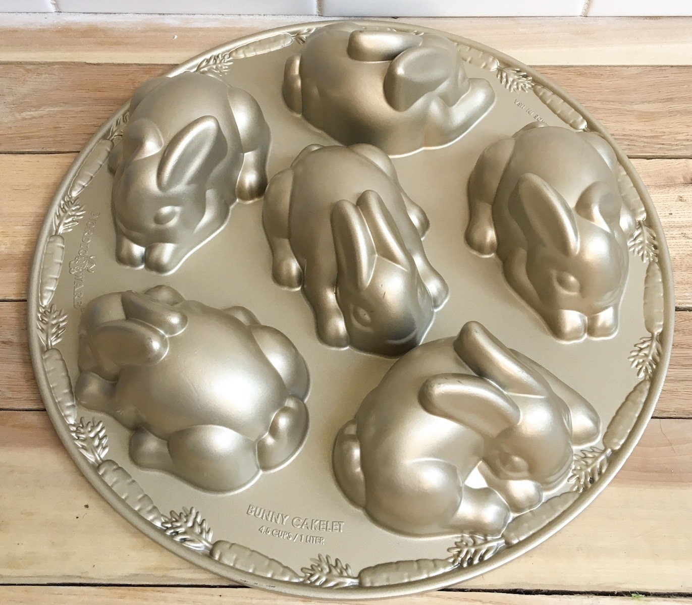 How to use the Nordic Ware Bunny Mold. Bunny cake pan mold for detailed bunnies.