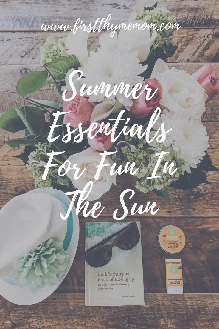 Summer Essentials For Fun In The Sun