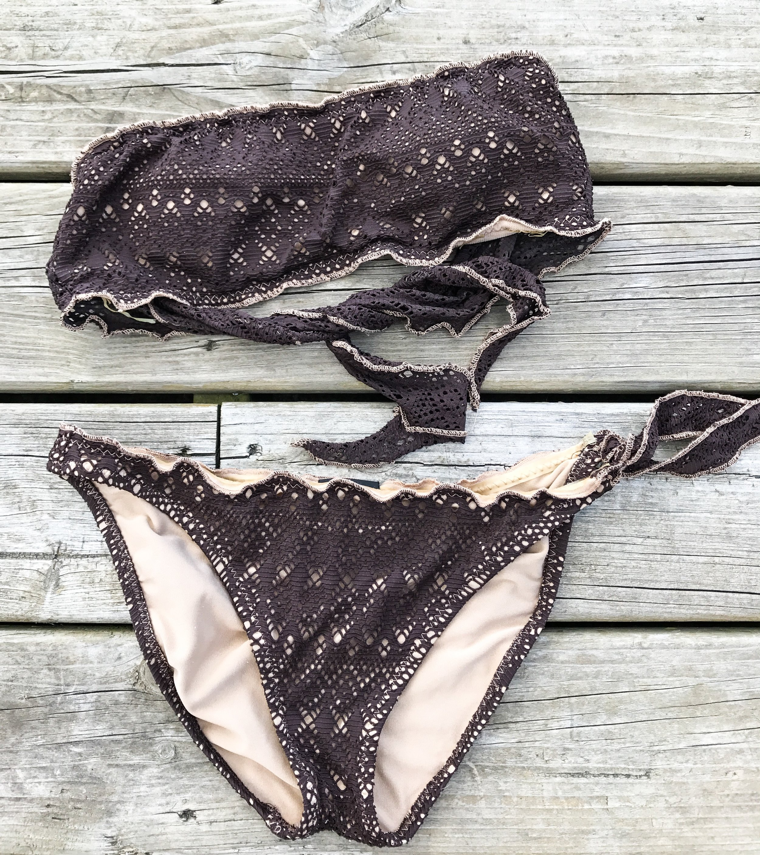 How To Part With Old Swimwear That Doesn't Fit
