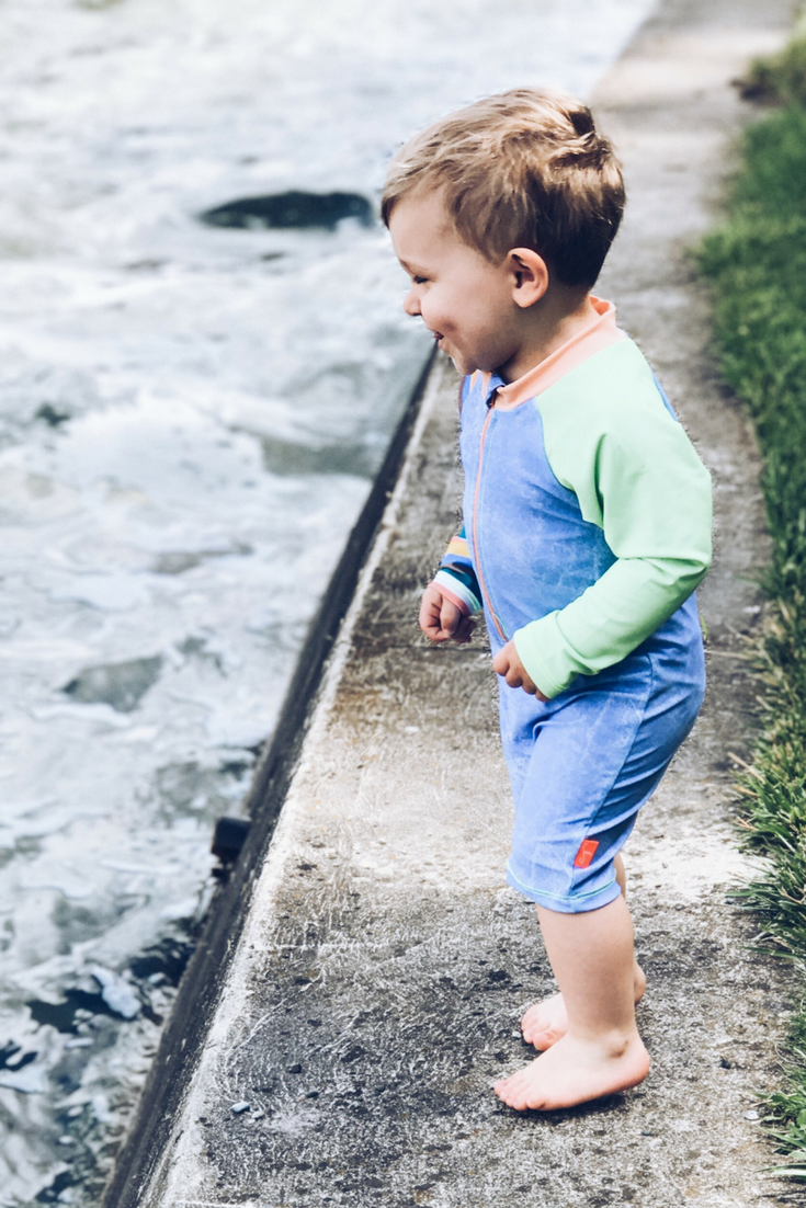 Rashguards for Kids. Suits that offer more sun protection in the summer.