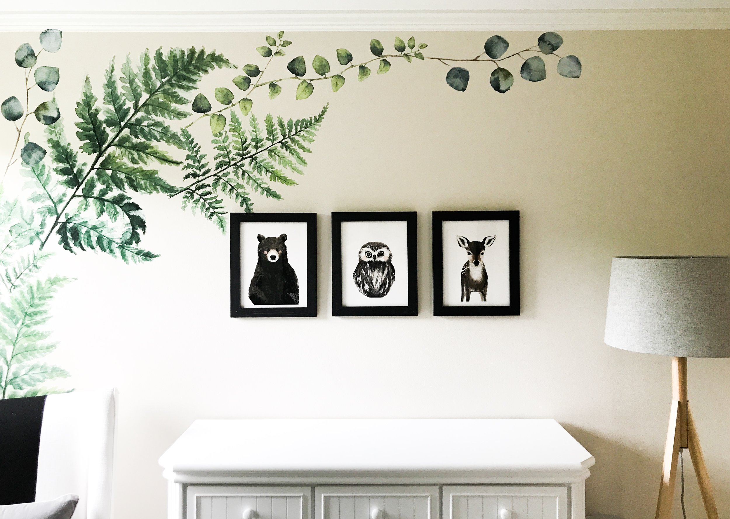 Woodland Creatures Nursery Decor For Baby Boy Or