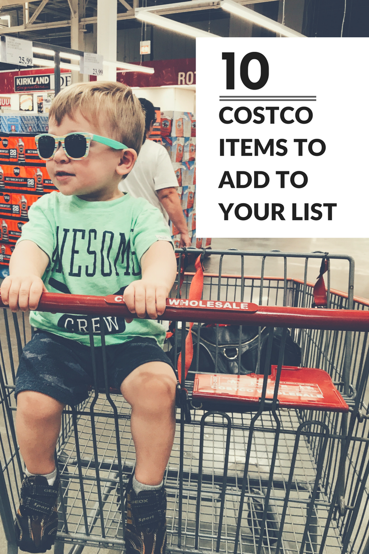 My Top 10 Favorite Costco Products To Buy