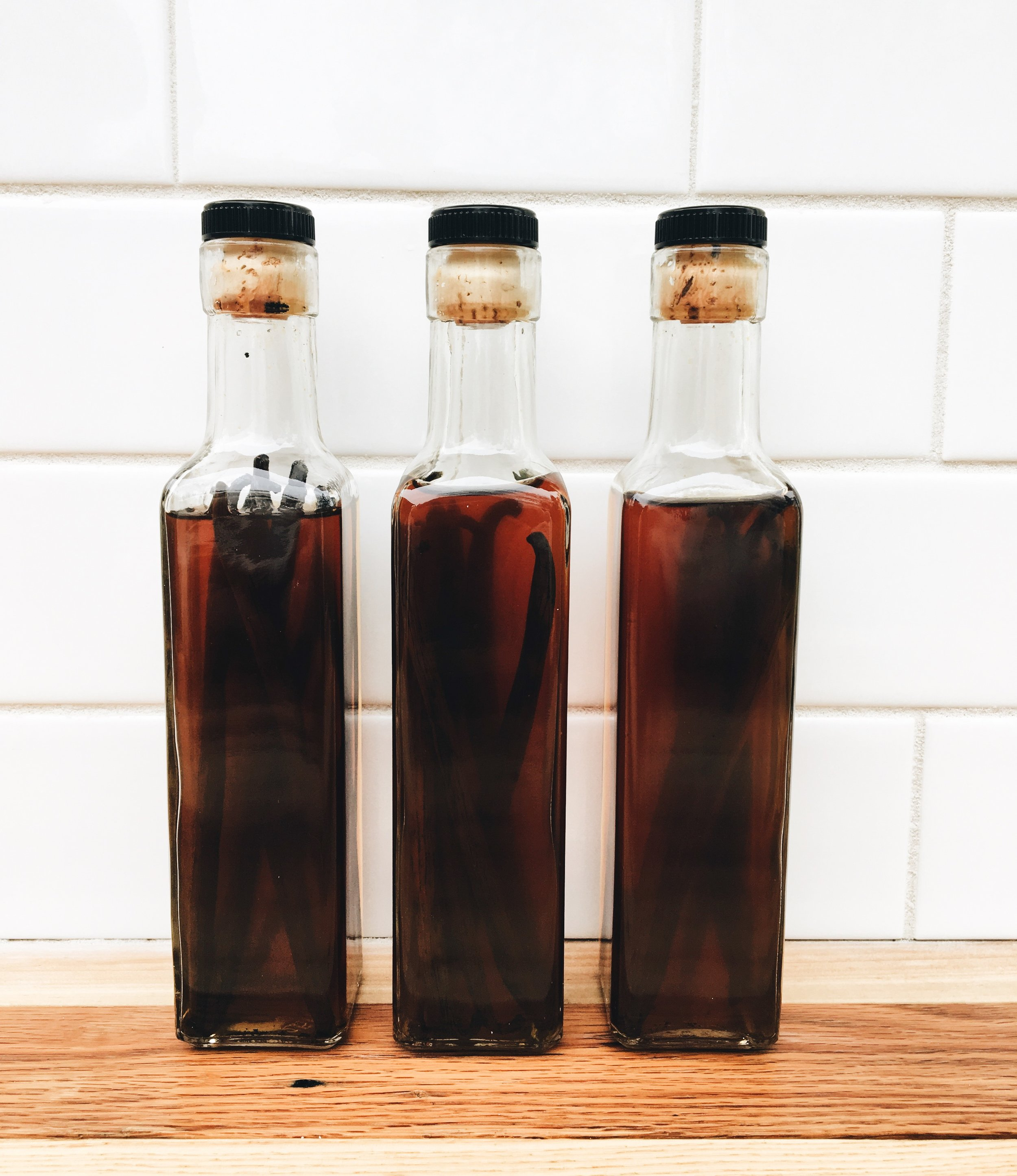 How To Make Your Own Vanilla Bean Extract - Vanilla Extract After Eight Weeks