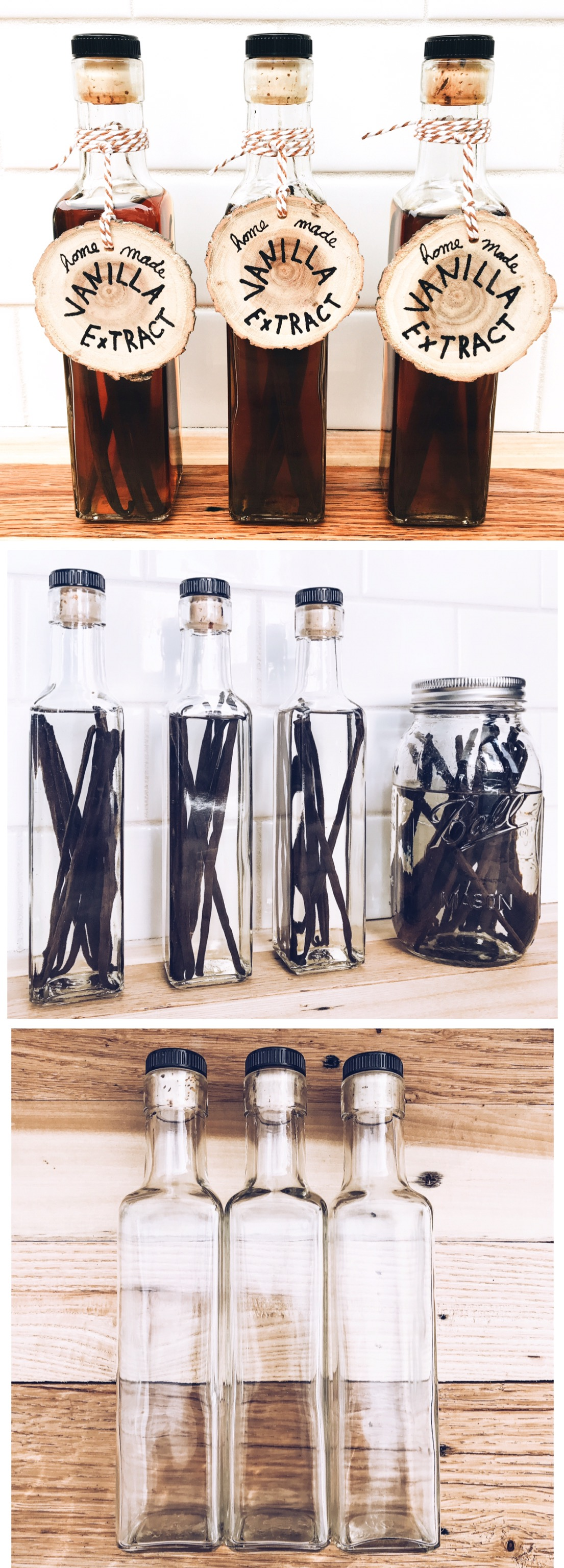 How To Make Your Own Vanilla Bean Extract - Homemade Gift Ideas For Bakers