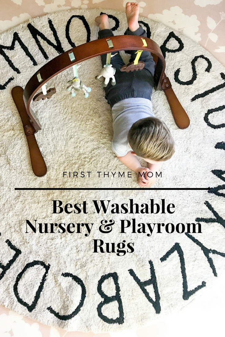 Cutest Washable Nursery and Play Room Rugs. Best children's rugs. Play room rugs. #nurseryrugs #nurserydecor #playroomrugs