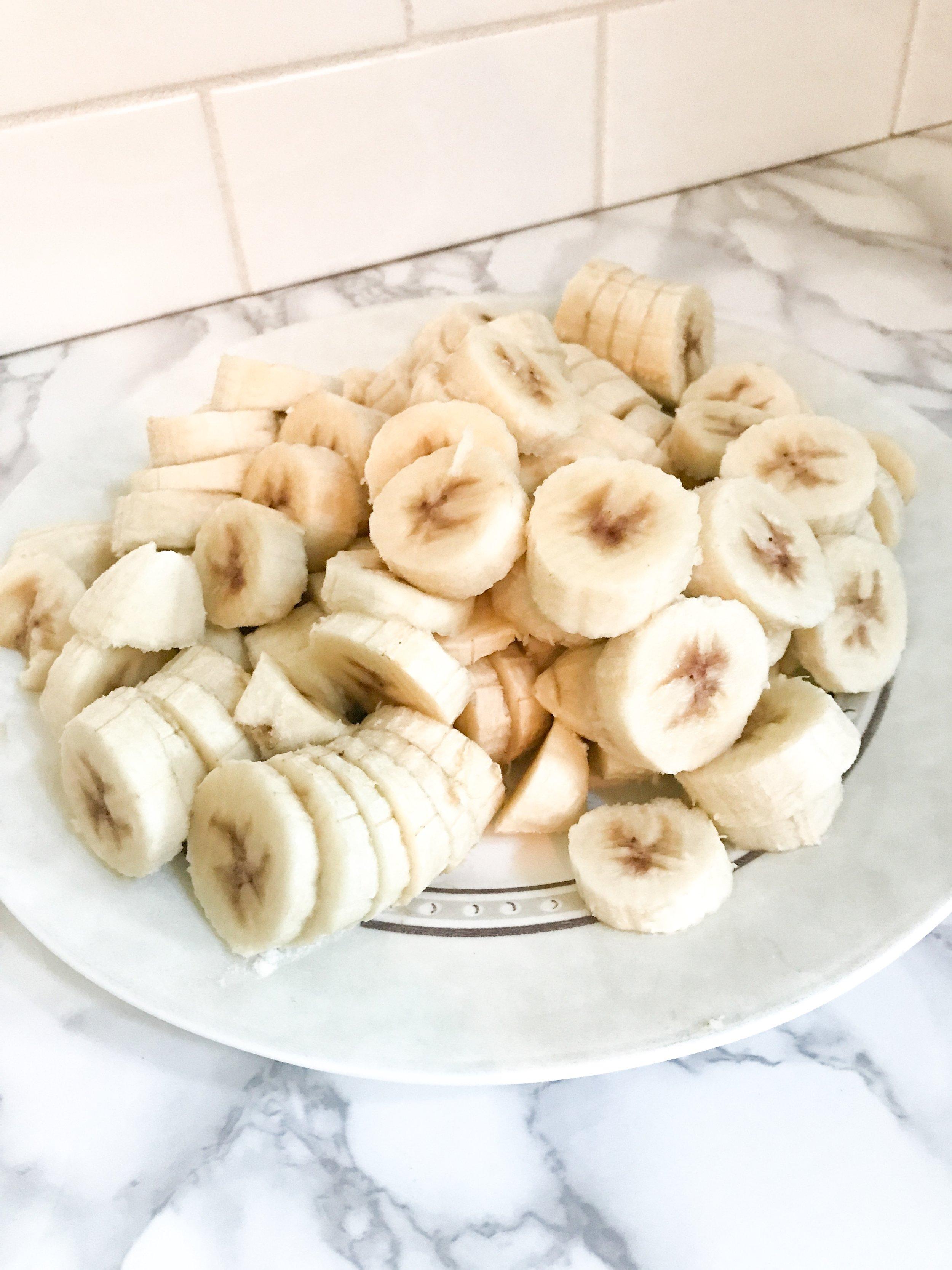 Pumpkin Spice Banana Soft Serve. Frozen banana soft serve ice cream recipe.