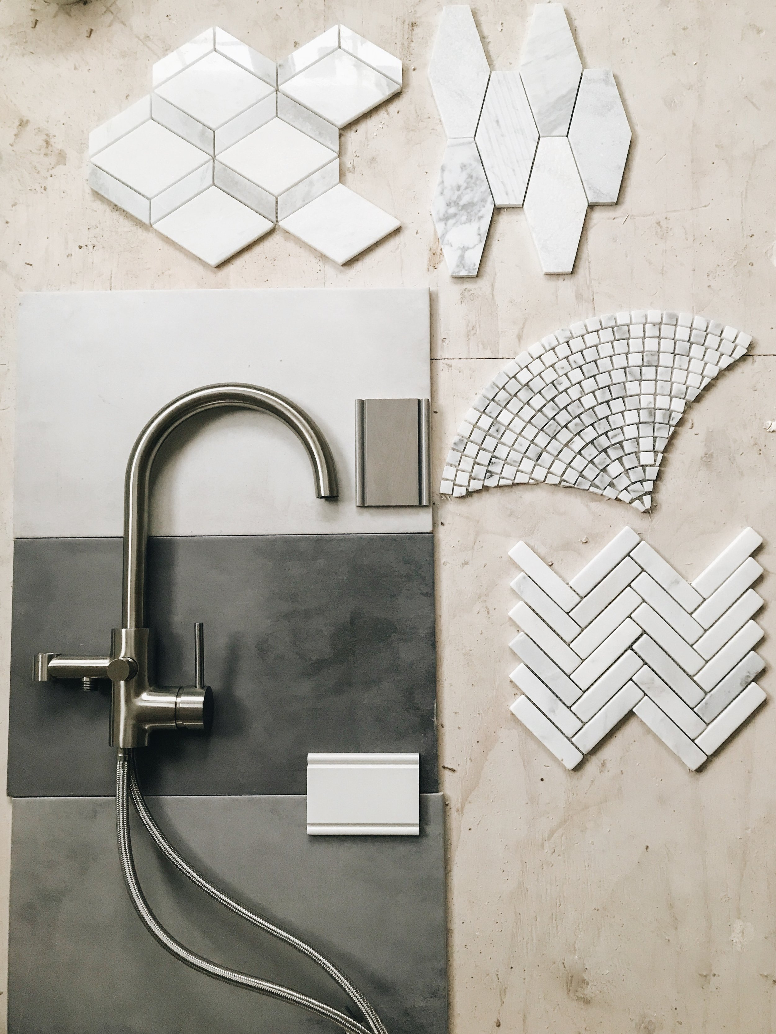 Bathroom tile ideas. Designing A Master Bath. Bathroom remodeling ideas. Modern bathroom design. New bathroom construction. Master bathroom freestanding tub and marble shower ideas. #wetstyle #sponsored #newconstruction #modern #master #bathroom