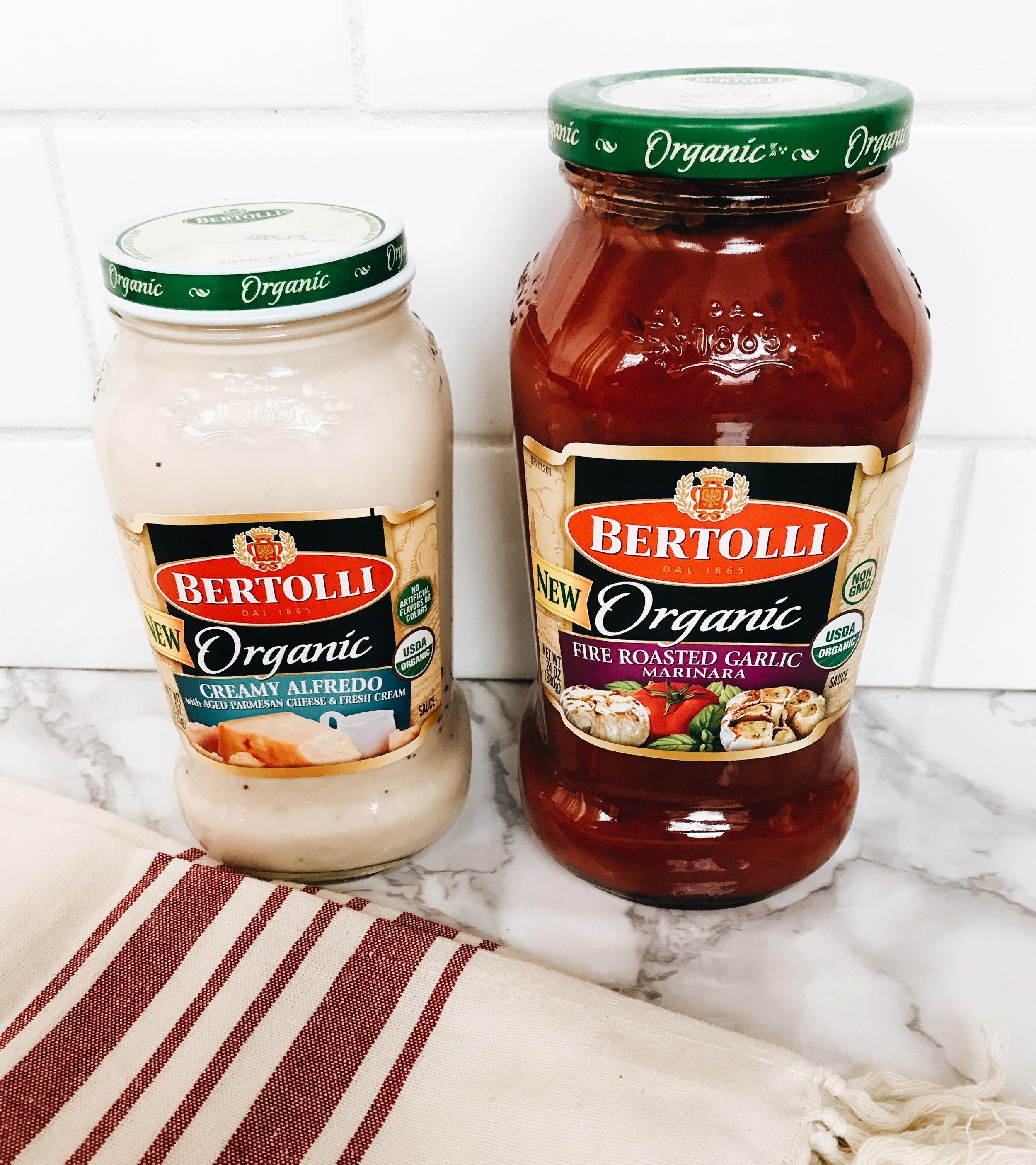 Bertolli Fettuccine Carbonara, Made With Bertolli Organic Creamy Alfredo Sauce #ad #sponsored #Bertolli #carbonara