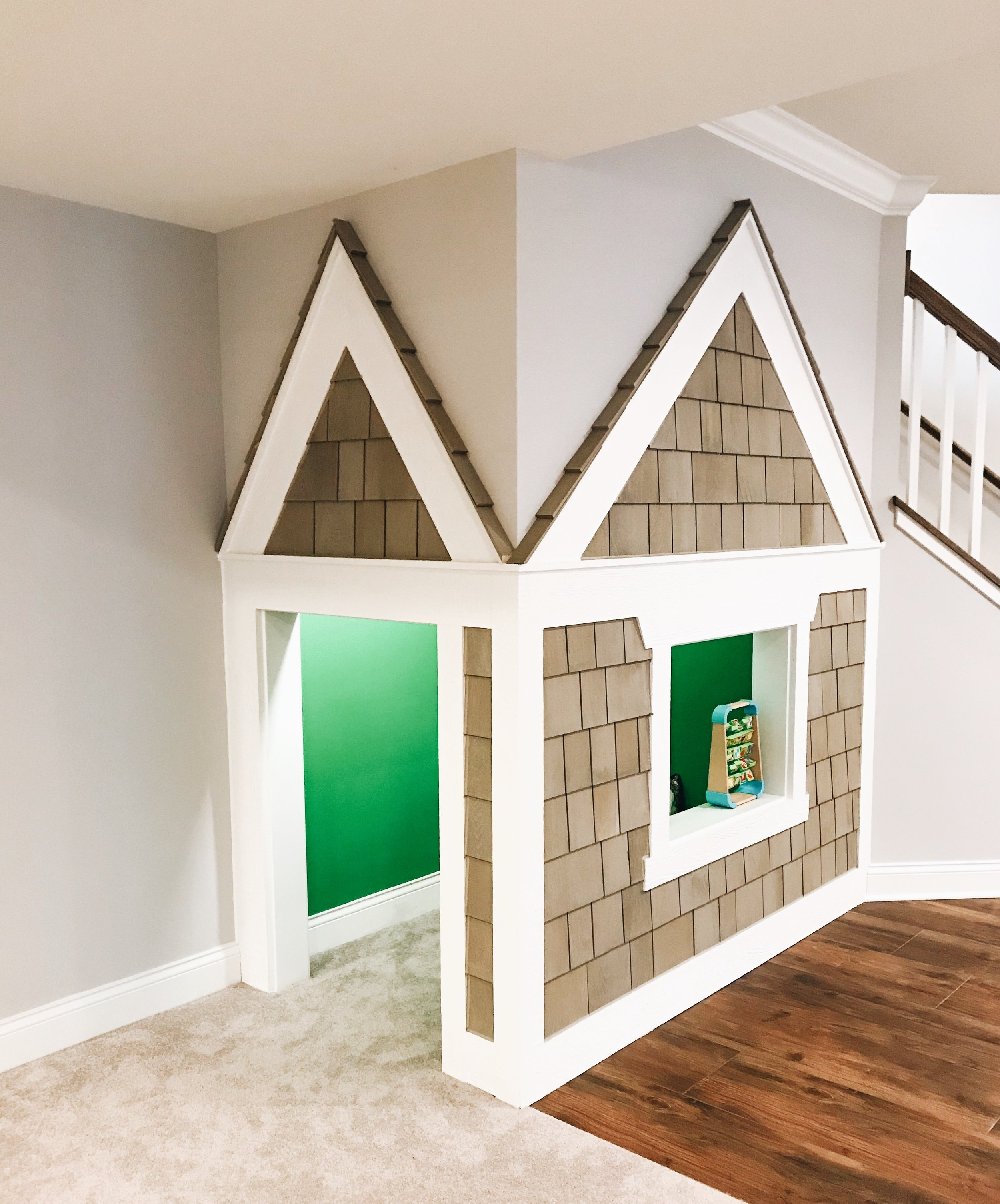 Under The Stairs Playhouse Ideas For Kids